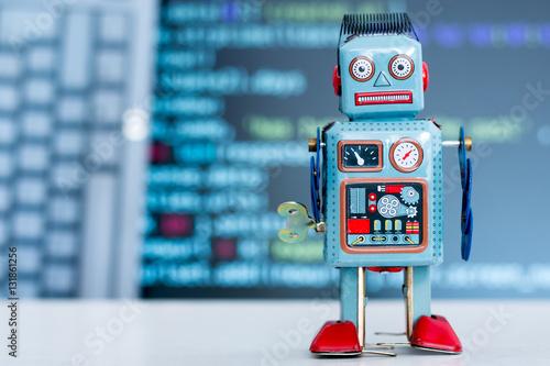 Poster Chatbot / Social Bot mit Quellcode und Keyboard