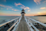 Marshall Point Lighthouse Sunset  - 131866849