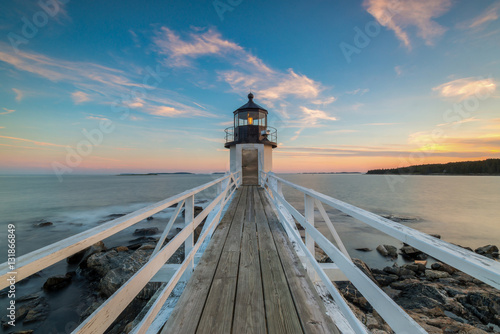 Plakat Marshall Point Lighthouse Sunset