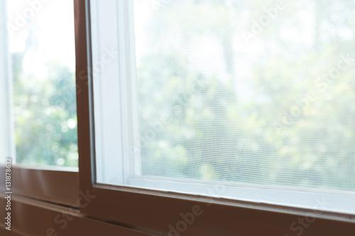 Foto Murales window mosquito wire screen