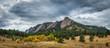 Flatiron Mountains in Boulder Colorado