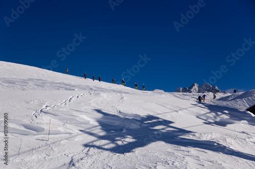 Foto Murales Шамони Альпы Франция