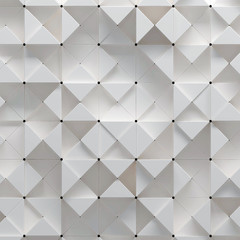 3d illustration of geometric pattern © Zoran