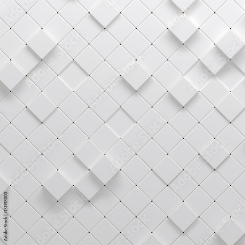 3d illustration of geometric pattern - 131918000