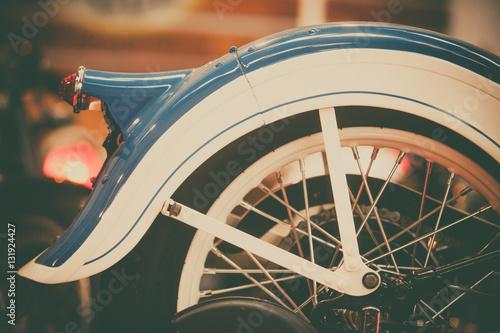 Aluminium Fiets Vintage motorcycle rear fender