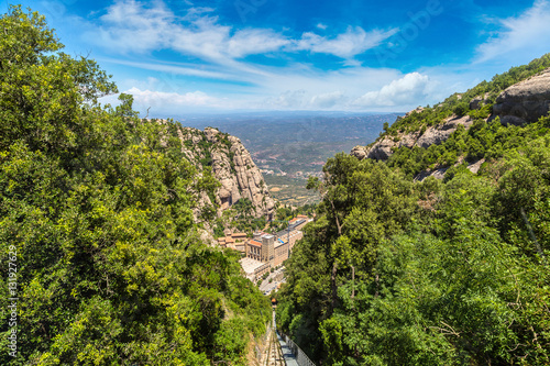 Poster Montserrat funicular railway