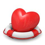 salvagente con cuore