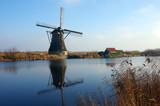 moulin kinderdijk hollande