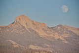 Yosemite National Park Moon over Clark Range