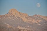 Yosemite National Park Moon over Clark Range