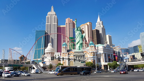In de dag Las Vegas Little new york