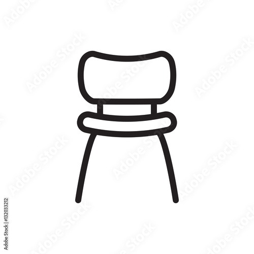 chair icon illustration