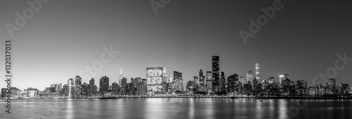 Foto op Canvas New York Midtown Manhattan skyline panoramic view