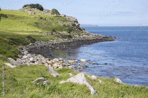 Coast next to Slavers Bay, Murlough Beach; County Antrim Poster