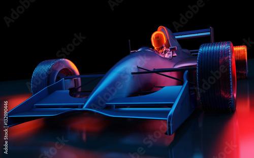 Foto Spatwand F1 Racing cars