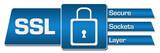 SSL Blue Rounded Squares Horizontal