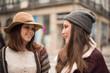 Women on the city street