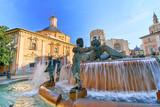 Valencia Hiszpania Plac Saint Mary's