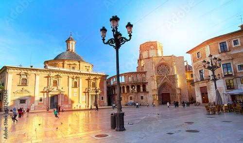 Valencia Spain Square of Saint Mary's