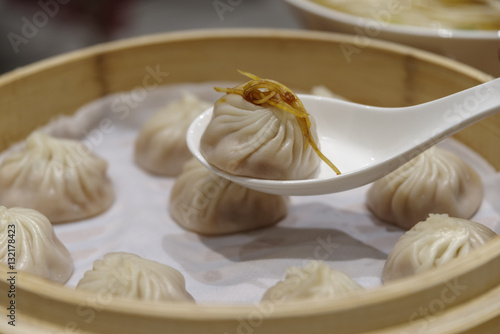 Poster chinese dim sum - Xiaolongbao