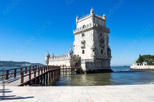 canvas print picture Lissabon  - Torre de Belem