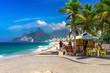 Quadro Ipanema beach in Rio de Janeiro. Brazil