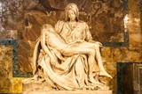 Pieta sculpture at Saint Peter's Basilica in Vatican. - 132223094