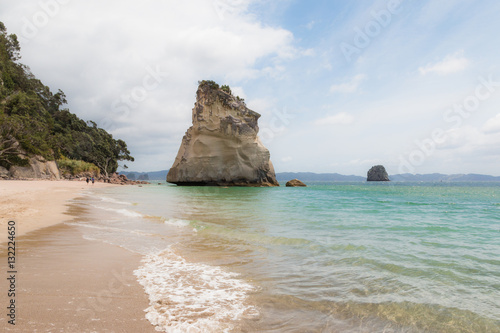 Foto op Plexiglas Cathedral Cove Cathedral Cove auf der Nordinsel Neuseelands
