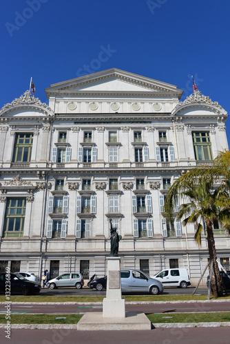 Papiers peints Nice Opernhaus von Nizza mit Freiheitsstatue
