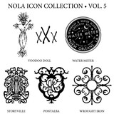 New Orleans Icon  Vol 5 Wall Sticker