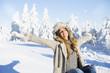 Quadro Freiheit in der Winterlandschaft