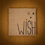 Wish. Selective focus.