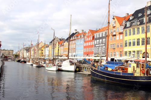 Poster Nyhavn  Harbor