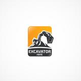 Excavator logo. - 132288643