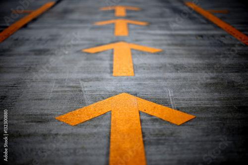 Foto op Plexiglas F1 Pitlane detail of a Formula One track