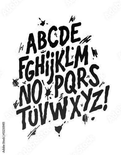 czcionki-szkic-czcionki-strony-alfabet-wektorowy