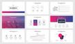 Detaily fotografie Infographics slide template