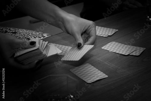 Poster Interesting fun card game, leisure.
