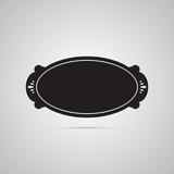 Векторная иллюстрация иконка простой символ плоский для веб button кнопка ярлык бирка стикер наклейка
