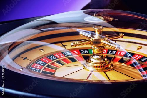 Image of casino roulette плакат