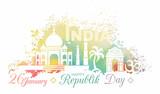 Symbol of Republic Day of India