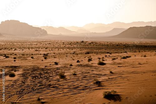 Poster Jordan desert