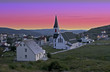 Trinity, Newfoundland, Canada at Sunset