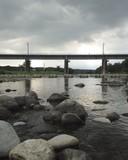 river and railway bridge