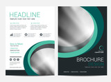 Brochure template flyer background for business design