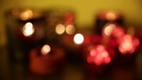 candles out of focus - bokeh