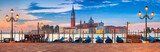 Fototapeta Venice Panorama. Panoramic image of Venice, Italy during sunrise.