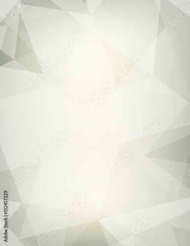 Abstract Faded Background With Transparent Triangles Vector Pat