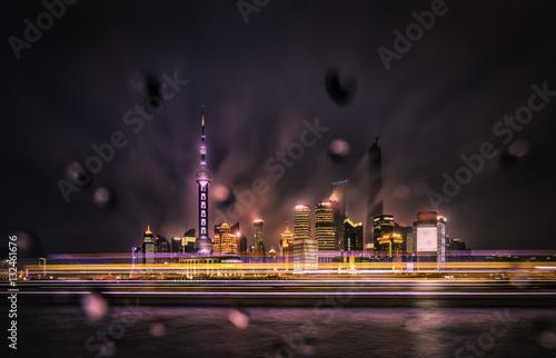Poster Rainy Night in Shanghai