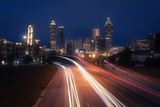 Atlanta city night skyline